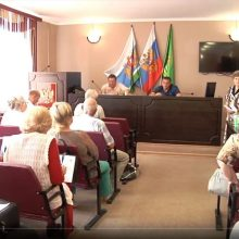 Июльское заседание совета ветеранов