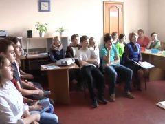 Пресс конференция центра занятости населения с обучающимися СОШ ТГО