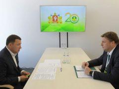 Евгений Куйвашев заявил о необходимости модернизации всей сельхозтехники в Свердловской области