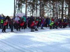 Лыжня в Комсомольском