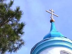 Освящение иконы в Беляковской церкви