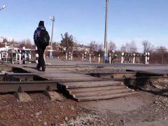 Гибель на железной дороге