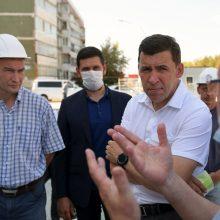 Школьники сыты, педагоги привиты: Евгений Куйвашев проверил готовность школ к учебному году