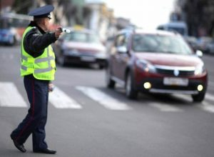 Массовая проверка на автодорогах