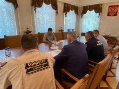 Евгений Куйвашев дал поручения в связи с природными пожарами и смогом, частично накрывшим города региона