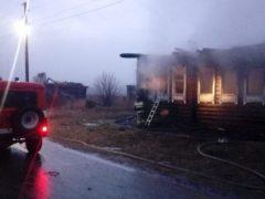 В селе Елань сгорел дом: погибли трое детей, еще двоих удалось спасти