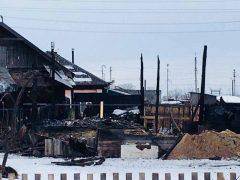 Семья осталась без дома после пожара