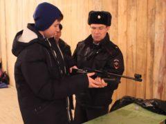 Полицейские провели тренировочные занятия по стрельбе