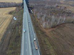 Завершилась масштабная реконструкция участка трассы Екатеринбург-Тюмень