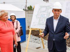 Евгений Куйвашев проверил, как исполняются его поручения по развитию Белоярского городского округа