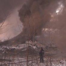 Пожар на территории завода БХЗ