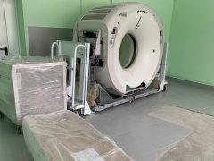 В Талицкую больницу доставили аппарат компьютерной томографии