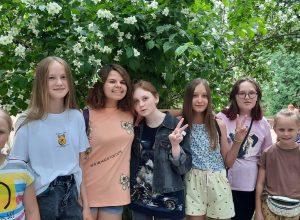 Юные художники Талицкой ДШИ побывали на практике в городе Пскове
