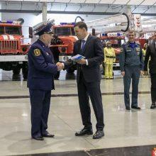 Новая пожарная техника для Талицы и других муниципалитетов