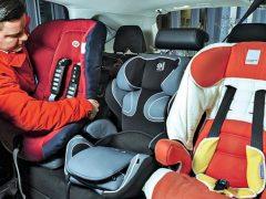 33 нарушения: перевозка детей без автокресел