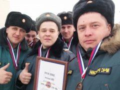 Команда талицких пожарных-спасателей стала третьей на областных соревнованиях