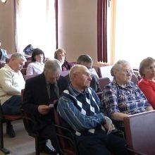Апрельское заседание районного Совета ветеранов