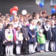 Торжественная линейка «первой» школы