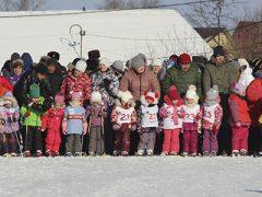 Лыжня России малыши