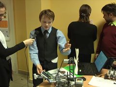 Техническая выставка в школе №5