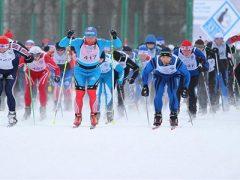 Лыжные соревнования п. Комсомольский