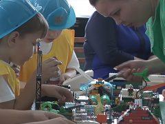 Конкурс Лего-Радуга детские сады