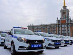Талицких полицейских наградили автомобилем