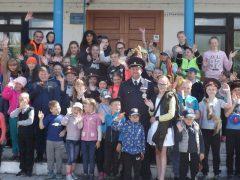 Полицейские Талицы провели для школьников акцию «День Безопасного движения»