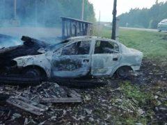 Ночное происшествие: в Бутке сгорел жилой дом и автомобиль