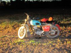 Под Буткой погиб мотоциклист
