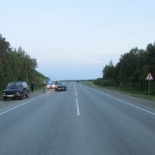 Сбит пешеход на трассе Екатеринбург-Тюмень