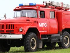 Новая пожарная машина