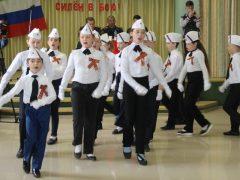 Маршировали и пели – в школе №1 прошел традиционный смотр