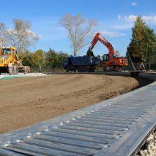 В августе будет закончена реконструкция стадиона «Колос»