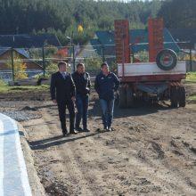 Министр спорта оценил реконструкцию стадиона «Колос»