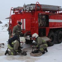 Пожарная часть в «боевой» готовности