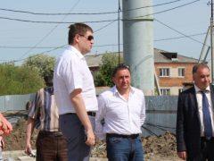 Министр строительства Свердловской области с рабочим визитом в Талице