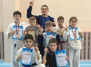 Соревнования «Юный воин»