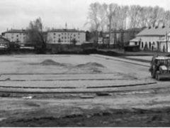 Строительство спорткомплекса в Пионере