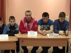 Пресс конференция с талицкими боксерами