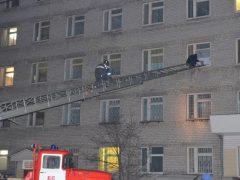 В стационарном отделении Талицкой больницы прошли учения по противопожарной безопасности