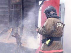 В пожаре погибла женщина