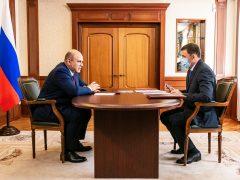 Михаил Мишустин поддержал проекты Свердловской области