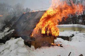 Семь пожаров за неделю