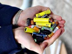 Время сдать старые батарейки