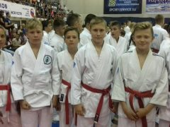 Наши спортсмены на Всероссийских юношеских играх