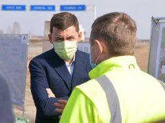 Евгений Куйвашев посетил Талицу и решил вопрос проблемного участка трассы