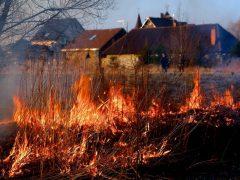 Ряд пожаров, есть погибший