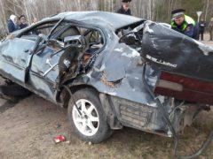 Два человека погибли и еще три пострадали в ДТП