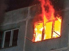 В пожаре пострадали дети